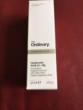 The Ordinary Hyaluronic Acid 2% B5 Hydration 30ml Anti Wrinkle Ageing Serum Skin