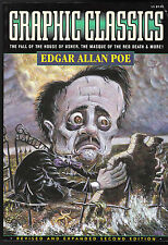 GRAPHIC CLASSICS # 1 EDGAR ALLAN POE 2ND ED FALL OF THE HOUSE OF USHER BLACK CAT