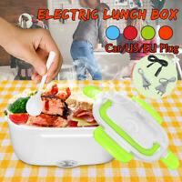 EU/US/Car Plug 40W Portable Electric Heating Lunch Box Bento Food Warmer Heater