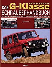 Mercedes-Benz G-KLASSE Schrauberhandbuch Reparaturanleitung Wartung Optimieren