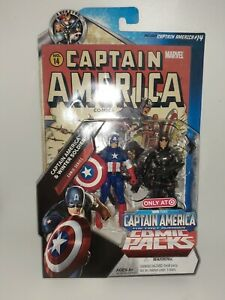 Marvel Hasbro 2011 Captain America Winter Soldier Comic Packs Target Excl MOC