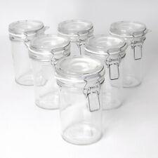 6er Set Einmachgläser Bügelverschlussgläser Vorratsbehälter 0,5L halber Liter