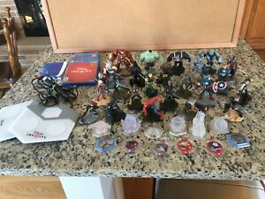 Disney Infinity Characters Lot Star Wars Marvel Super Heroes