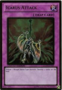 YUGIOH Card Icarus Attack GLD3-EN049 Gold Rare Limited Edition