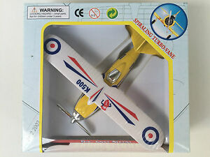 Die cast toy planes SHOW FLIGHT IN WINDOW BOXES