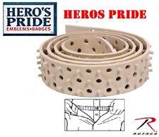 "Hero's Pride Shirt Tailor Rubber Belt Shirt Stay Belt Up To 44"" Shirt Holder"