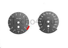 BMW Tachoscheiben für 3er E90 & 5er E60 Benziner 330 kmh km/h M3 M5 5008 Carbon