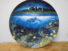 Underwater Paradise Discover off Anahola Robert Nelson Plate Danbury R5745