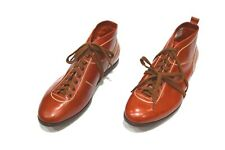 NEW SILVANO LATTANZI Dress Leather  Shoes Size Eu 42  Uk 8 Us 9 (CG463)