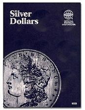 Whitman Coin Folder 9025 Silver Dollar - Plain Folder