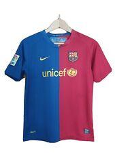 Barcelona Camiseta De Fútbol Chicos Grandes 12-13 Nike UNICEF Retro Auténtico