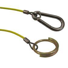 1m 3mm Remorque freinée rompre le câble (jaune) TR028