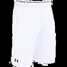 Under Armour Mens Raid Pocketed Shorts White Size SM 1253527100