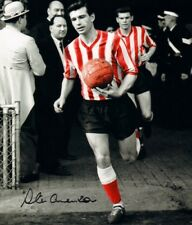More details for signed stan anderson sunderland afc autograph photo + proof 12