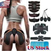 6/8Pads Smart EMS Wireless Muscle Stimulator Trainer Fitness Abdominal Training