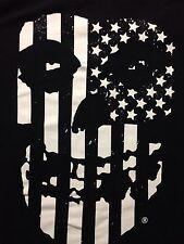 Used Misfits Danzig Sam Hain Rock Medium T Shirt Punk Metal Band Music Flag Gore