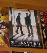 Supernatural Season 1 Promo Card SN-1 (general distribution) NM