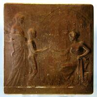 Raro Medalla Exposición Universal Bruselas 1910 Ovid Yencesse Cfee