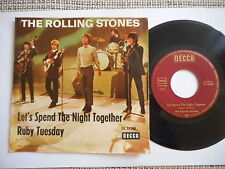 "ROLLING STONES  Let´s Spend The Night Together  7""  GERMAN DECCA rare"