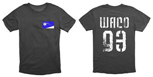 Waco 93 Branch Davidian Cult T Shirt Black