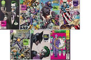 DC - Joker Last Laugh 1-6 Mini Series + Secret Files 2001 Batman, Harley Quinn