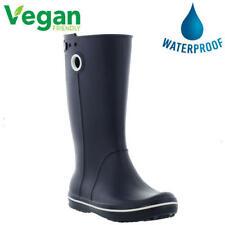 Crocs Crocband Jaunt Vegan Wellies Womens Ladies Blue Wellington Boots Size 4-8