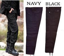 work Men's/Kids Army Combat Work Trousers Pants Combats Cargo Pockets Heavy Duty