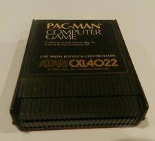 PAC-MAN Atari 400 800 1200 XL XE Computer Game Cart Tested