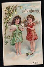 Vintage Antique Postcard Easter Greetings
