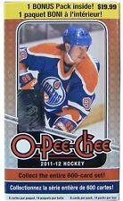 2011-12 Upper Deck O-Pee-Chee Blaster Box NHL hockey cards
