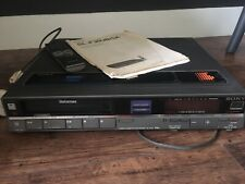 More details for sony betamax video recorder sl f30
