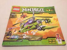 LEGO 9443 NINJAGO Rattlecopter Instructions Manual