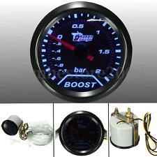 "2"" 52mm Car Auto Universal LED Pointer Bar Turbo Boost Gauge Vacuum Press Meter"