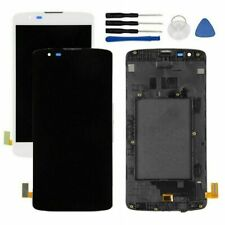 LCD Display Touch Screen Digitizer Frame Assembly For LG K8 K350N K350E K350DS