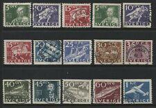 Sweden 1936 Postal Service set used
