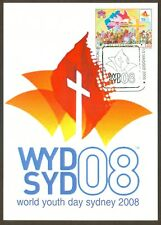 Vatican City Sc# 1384: World Youth Day- Sydney 2008, Maxi Cards