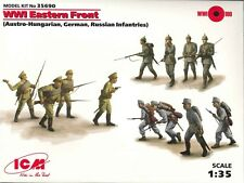 ICM Model Kit 35690 WWI Eastern Front Austro Hungarian German 1:35 Scale