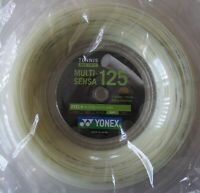Yonex Tennis String Multi-Sensa 125, MTG125, 1.25 mm/16L GA, 200m, Made in Japan