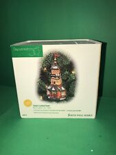 "Dept 56 North Pole ""Santa Lookout Tower Ornament"" 98773"