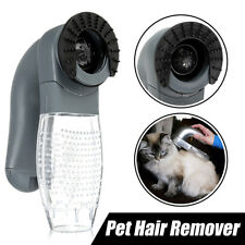 Cordless Electric Pet Hair Vacuum Cleaner Remover Shedding Grooming Brush Comb