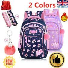 Lovely Kids Waterproof Backpack Primary Student School Shoulder Bag Girls Child