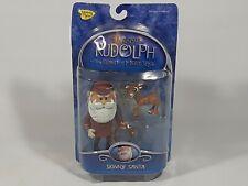 Skinny Santa w/Baby Rudolph Figure 2002 Rudolph & Island of Misfit Toys