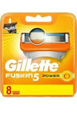 Gillette Fusion 5 Power XL Blades 8 Pack Brand New Genuine New Improved Blades