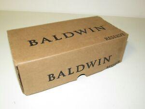 Baldwin 9BR3540-217 EN. SQU. L. CSR. FAST FREE SHIPPING.