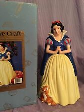 SNOW WHITE DISNEY COOKIE JAR TREASURE CRAFT NEW IN BOX