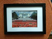 Framed Vintage Postcard Tomb of the Unknown Soldier Washington DC