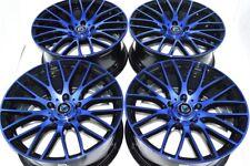 17 blue Wheels Rims Legend Civic IS300 Probe Edge Odyssey Milan Camry tC 5x114.3
