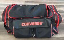 Vtg 90 s Converse All Star Black Duffel Bag Large Chuck Taylor 1990 s 59a3d39510ab1