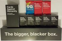 Cards Against Humanity Complete Set Expansions 1-5 Bigger Blacker Box New CAH
