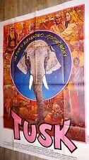 TUSK !  jodorowsky affiche cinema  , bd dessin gir moebius 1979